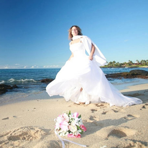 Big Island of Hawaii Beach Wedding